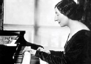 Wanda Landowska au clavecin